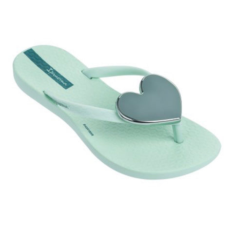 Girls Impanema Wave Heart Flip Flop