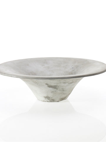 Flared Concrete Bowl