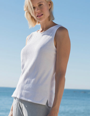 Cozy Boatneck Tee Seasalt