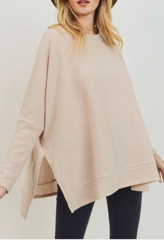 CH Loose Fit Round Neck Tunic