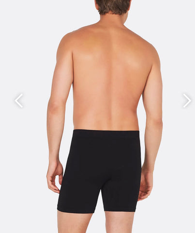 Men's Long Boxer Brief Black