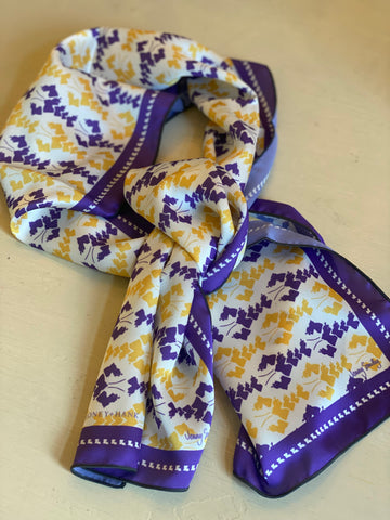 Purple & Gold Louisiana Scarf