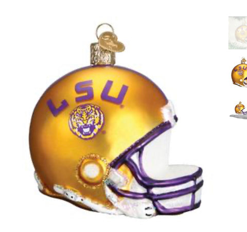 OW LSU Helmet Ornament