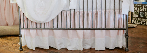 Josephine Baby Bedding: Crib Skirt