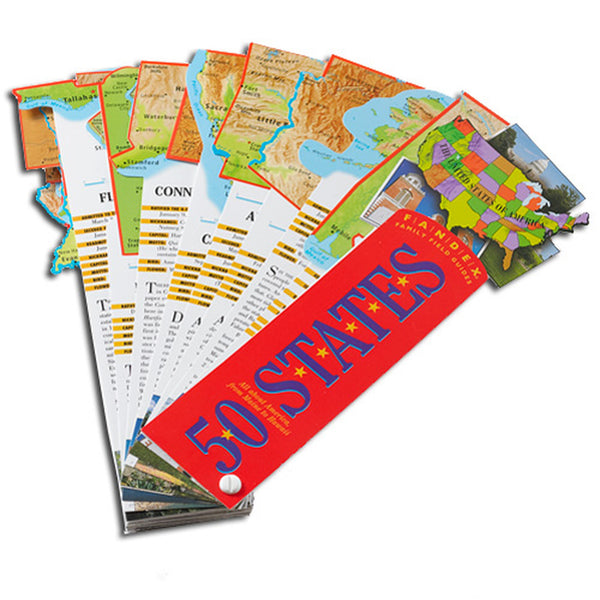 50 States Fandex Family Field Guides