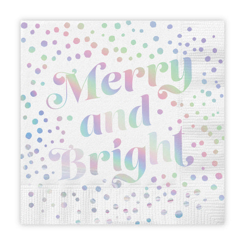 Merry & Bright Foil NAPKINS