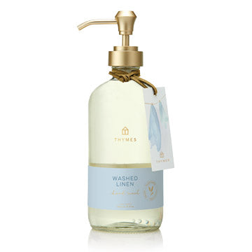 Thymes Washed Linen Hand Wash 15 oz