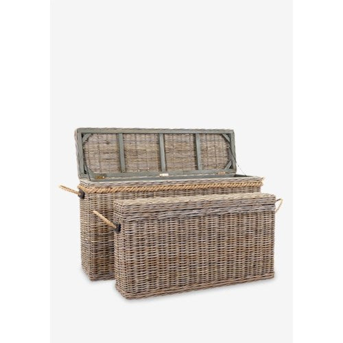 Console Basket with Storage