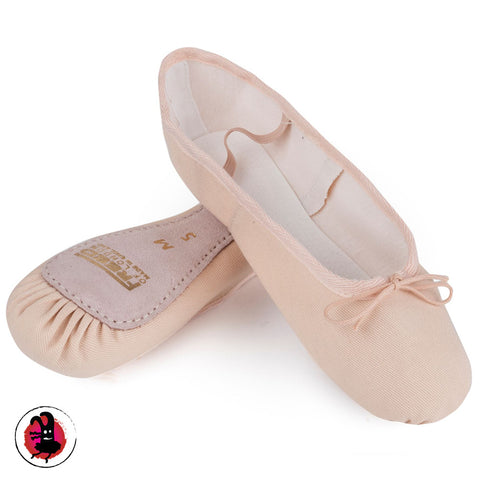 Pink Canvas Ballet Shoes by Freed | Tokyo Monster