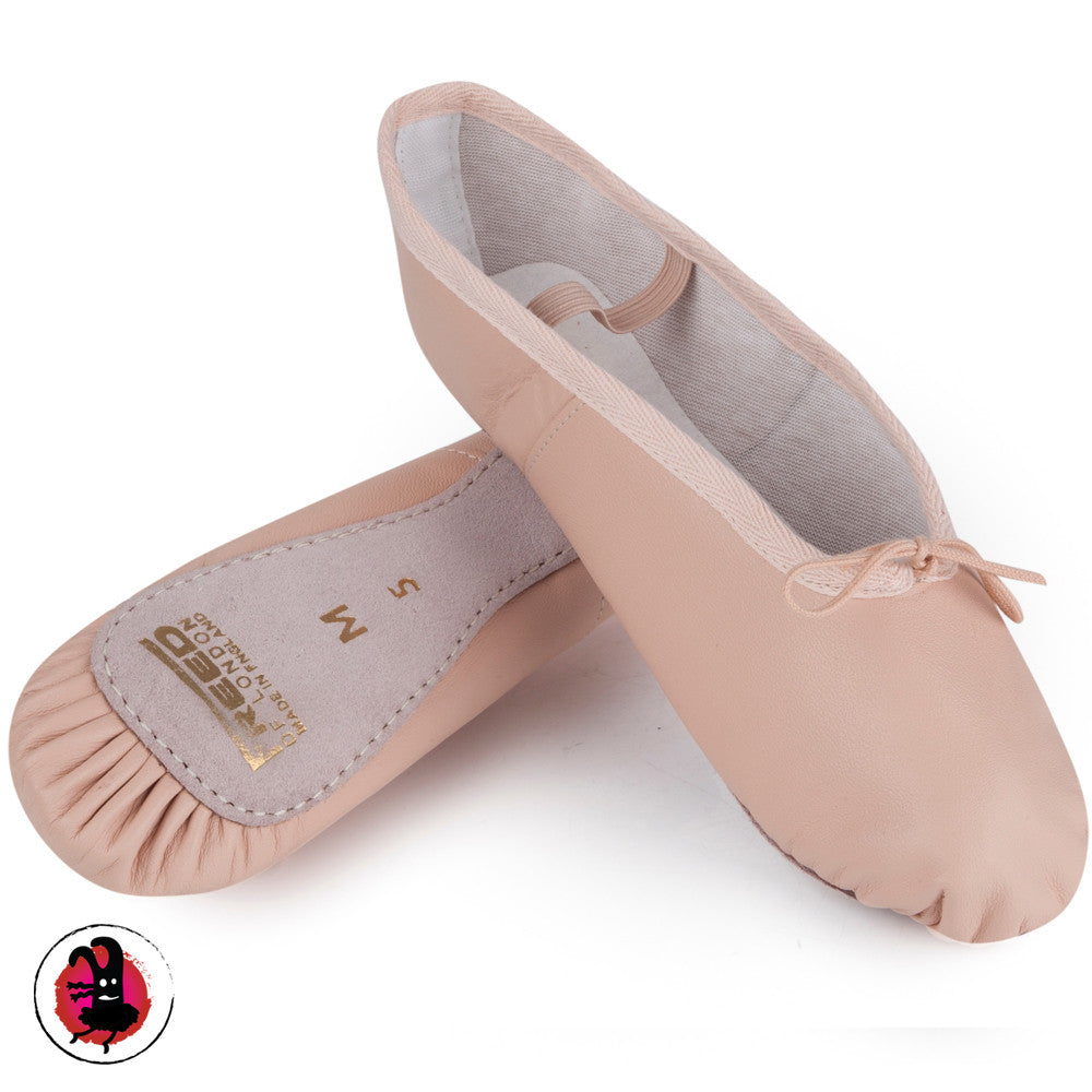 Pink Leather Ballet Shoes | Freed Aspire | Tokyo Monster Dancewear