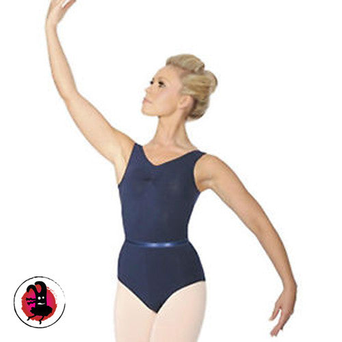 Pretty Cotton Gathered Bustline Leotard (Many Colours)