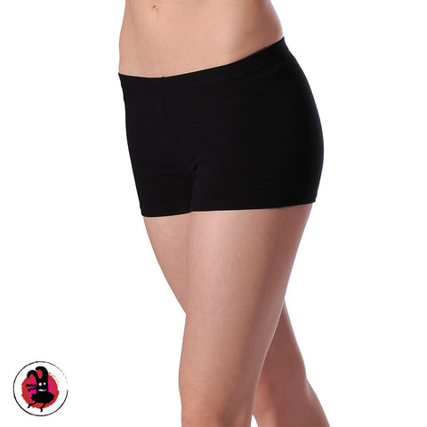 Black Hipster Style Dance Shorts
