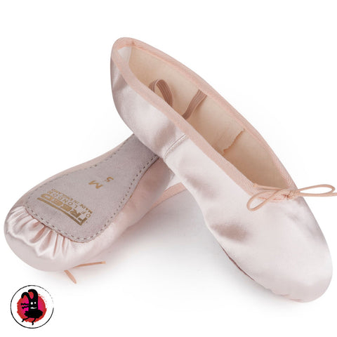 Pink Satin Ballet Shoes by Freed