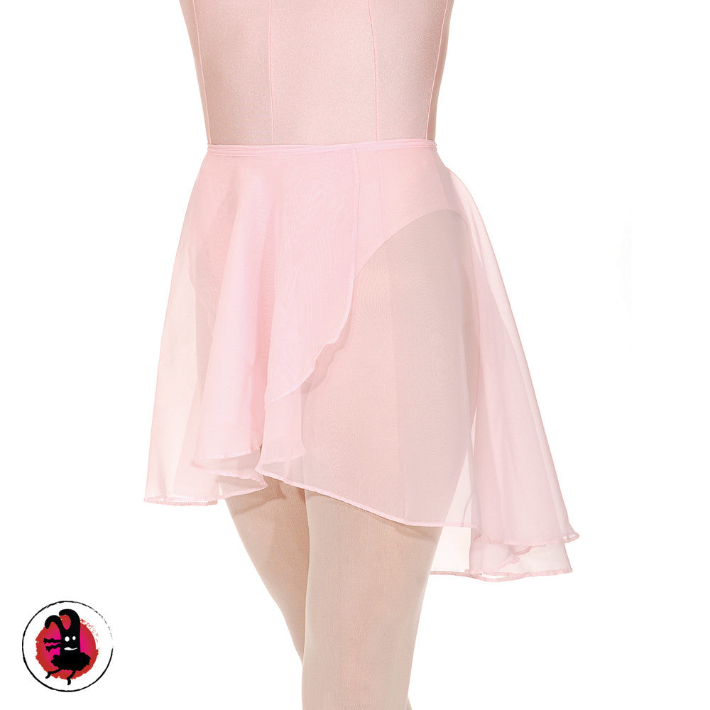 Georgette wrap over style ballet//dance skirt.