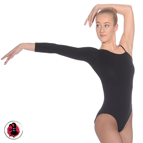 Leotard with Single Strap & Single Sleeve