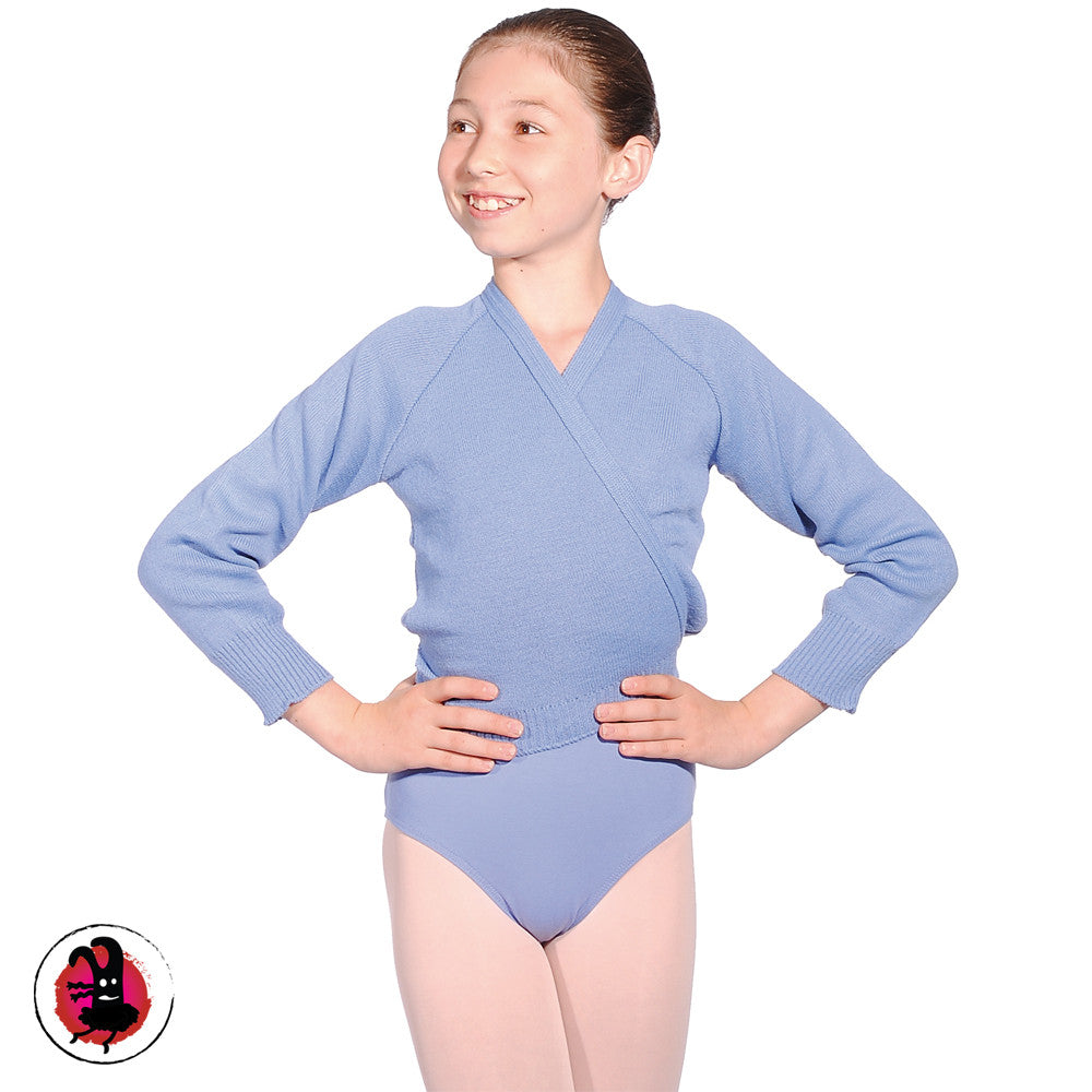 Ballet Cardigan. Long Sleeved Wraparound Crossover Cardigan (Many Colours)