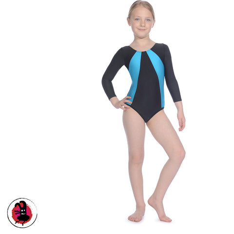 Two Tone Gymnastics Leotard (Many Colours)