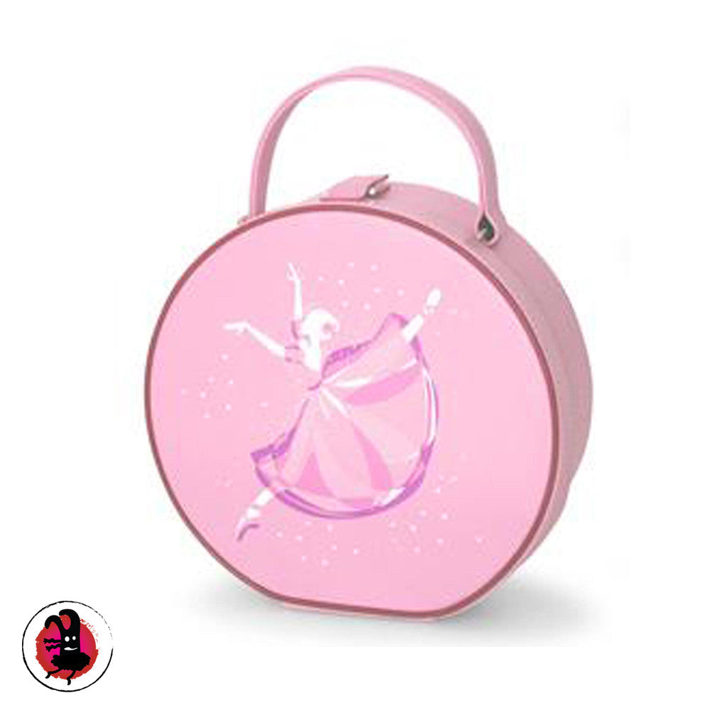 Pink Ballet Bag. Ballet Vanity Case with Ballerina Images.