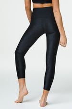 'Jacquard' Midi Leggings - Alvorado or Black