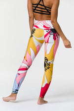 'Graphic' Leggings - Flower Child - High Rise