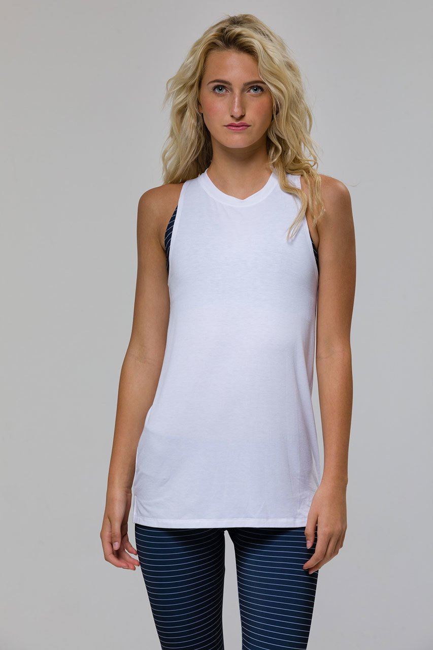 'Braid' tank - White or Black
