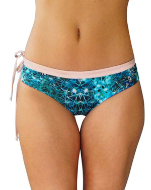 'Wild Thing and cactus' cheeky bikini bottom reversible