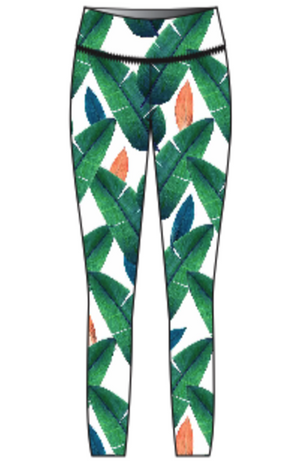 'Cabana' Youth Leggings