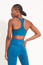 'Racer back' sports bra - choose your color or print