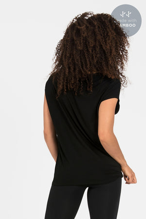 'Luxe Layer' Top - Bamboo - White or black