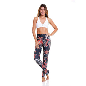 'Bromeliads' Extra long legging