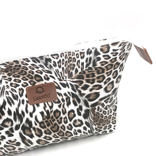 'Make Up Pouch' Golden Hour - Lazy Leopard