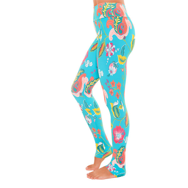 'Tenderness' Print leggings extra long