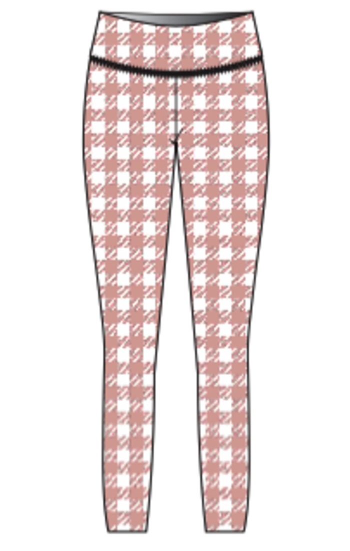'High Tea' Youth Leggings