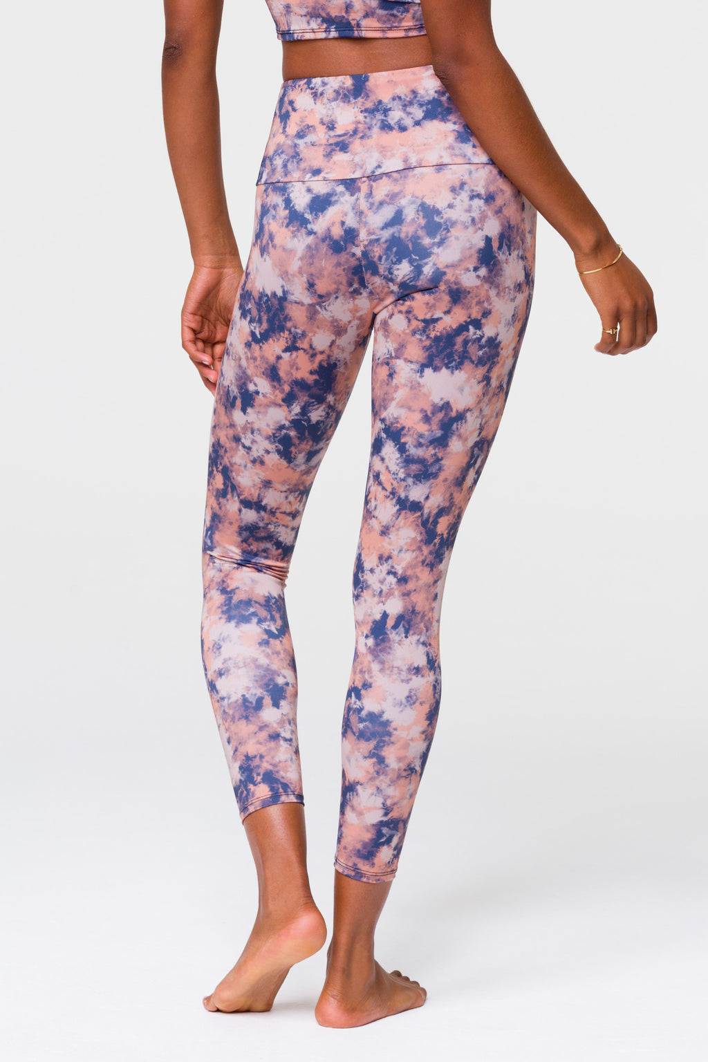 'Earth Tie Dye' legging