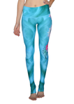 'Spiritual Journey' high waisted eco leggings