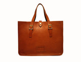 Tan Soft Leather Tote