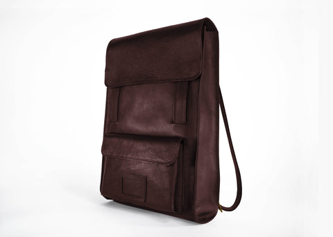 Mocha Brown Back Pack Tote