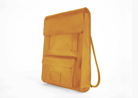 Mustard Back Pack Tote