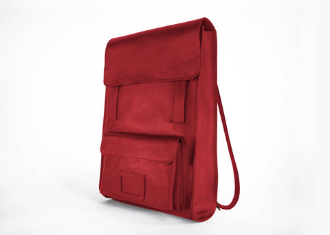 Ox Blood Back Pack Tote
