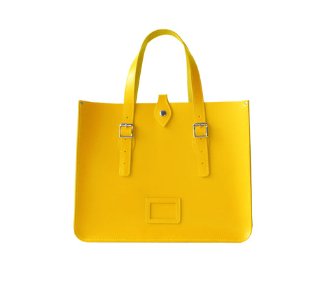 Citrus Yellow Tote
