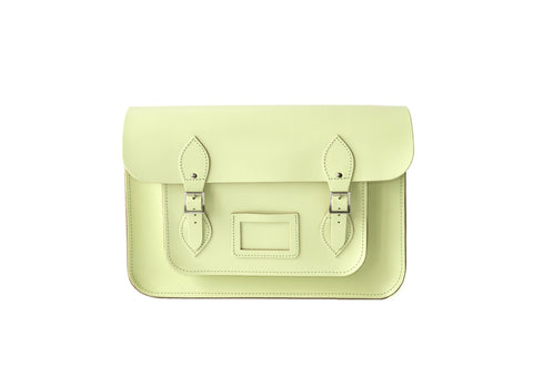 Lime Pastel Satchel