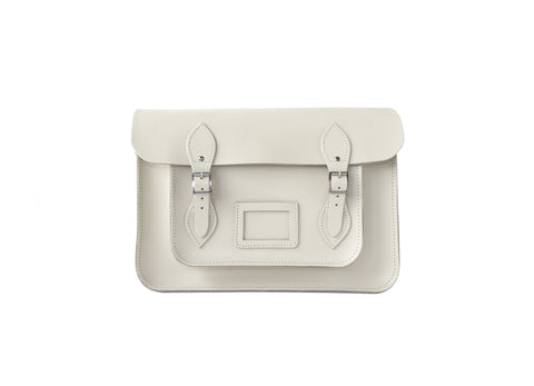 Snow White Leather Satchel