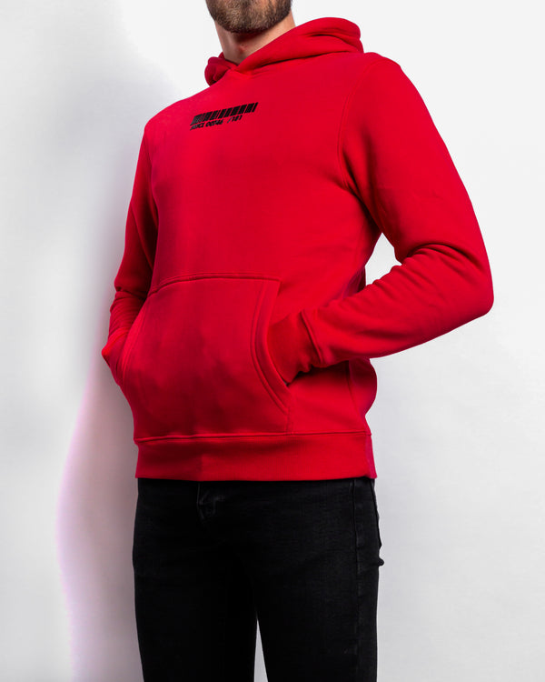 PRTCL Capsule Collection Hoodie Red