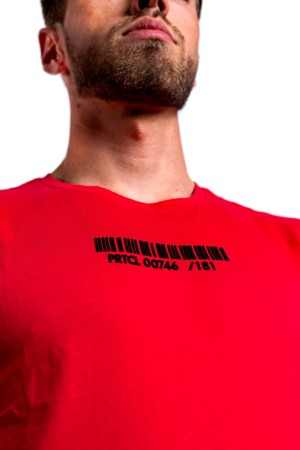 PRTCL T-shirt Capsule Collection Red