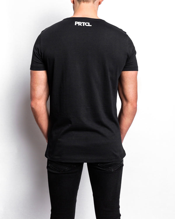 PRTCL White Logo Shirt