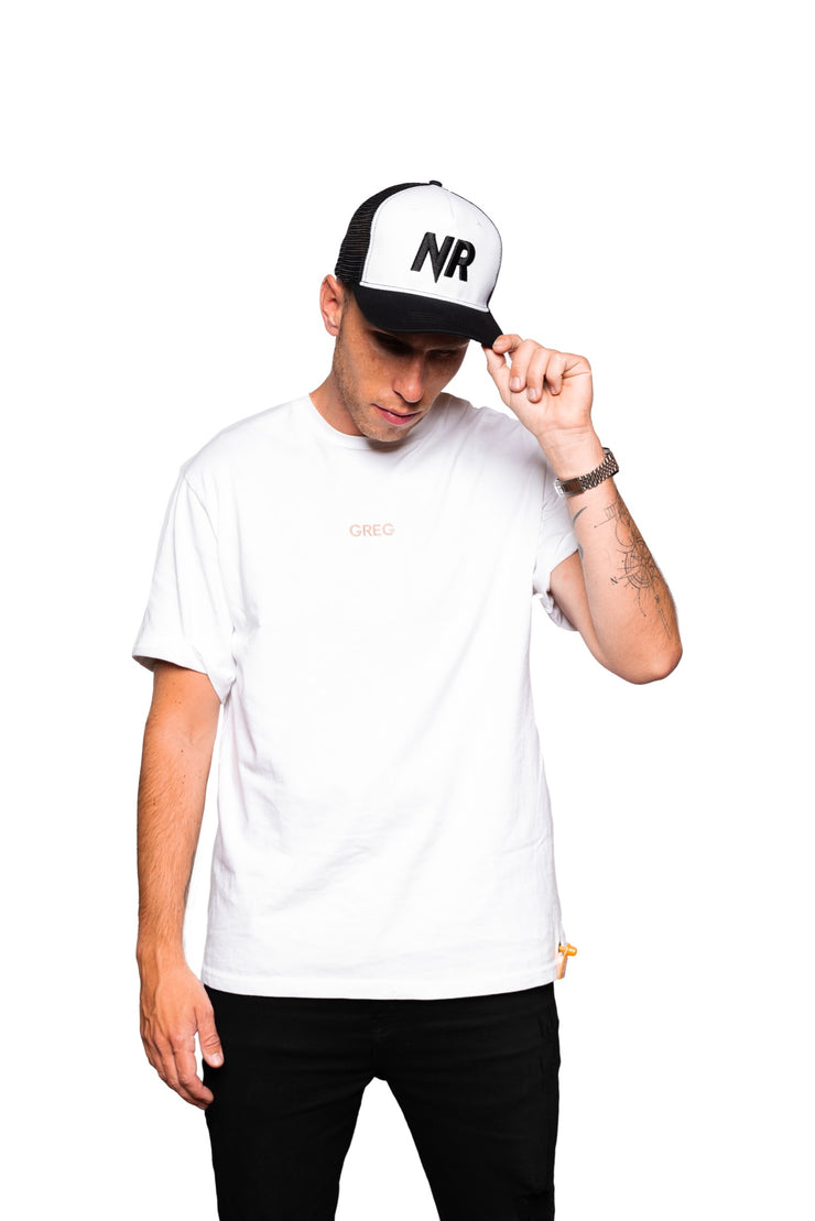 NR TRUCKER CAP BLACK/WHITE