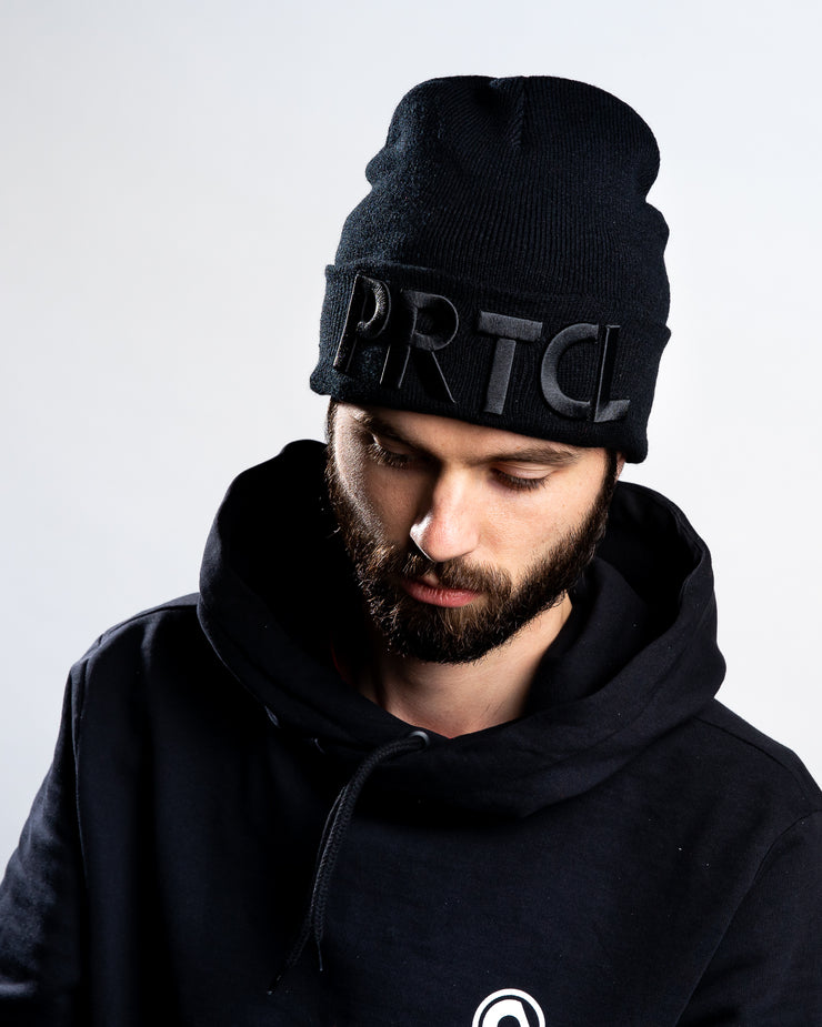 PRTCL Beanie Black on Black