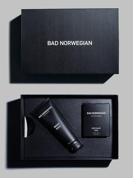GIFT SET REVITALIZE FACE/WASH FACE - BAD NORWEGIAN  - 1