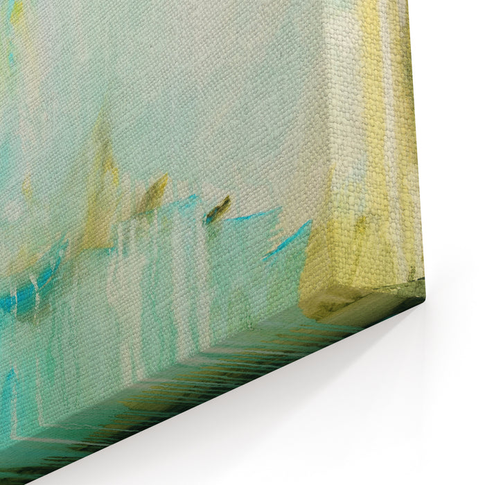 Abstract Painting On Canvas Hand Painted Canvas Wall Art Print