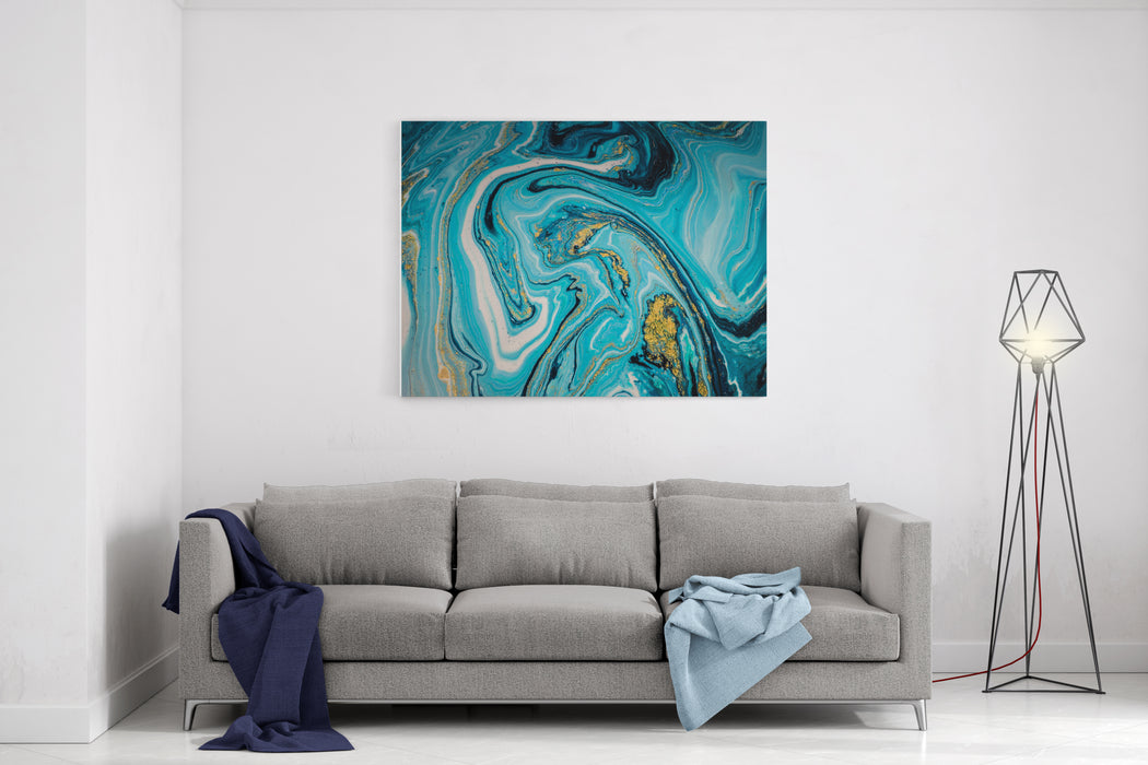 Beautiful Natural Luxury Marbleized Effect Ancient Oriental Drawing Technique Style Incorporates The Swirls Of Marble Or The Ripples Of Agate For A Luxe Effect Very Beautiful Painting Magic Art Canvas Wall Art Print